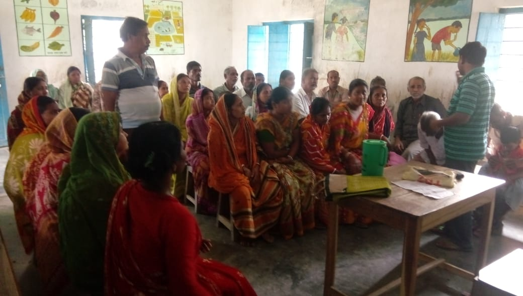 Training Given On Organic Farming