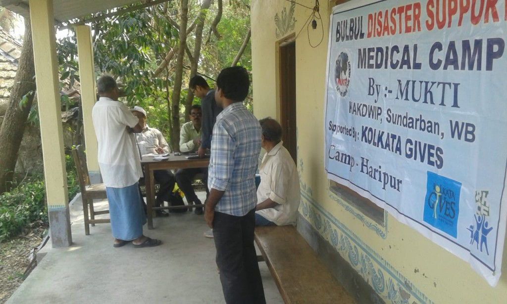Medical Camp At Haripur, Binapani Club For Cyclone-affected Families
