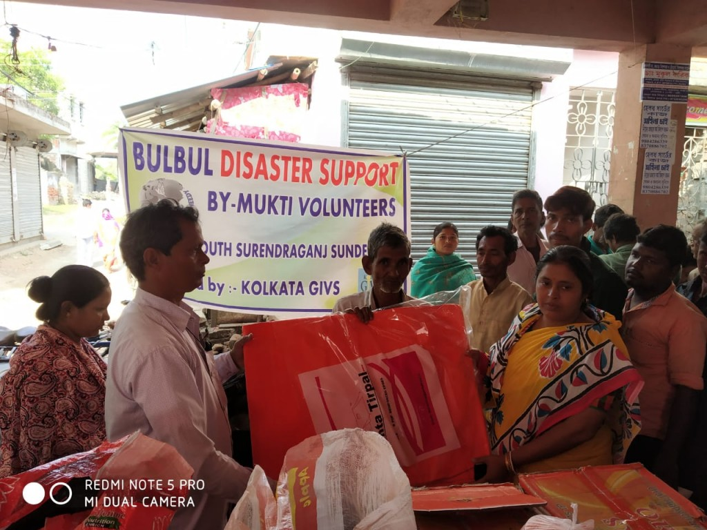 Relief Work At North And South Surenderganj