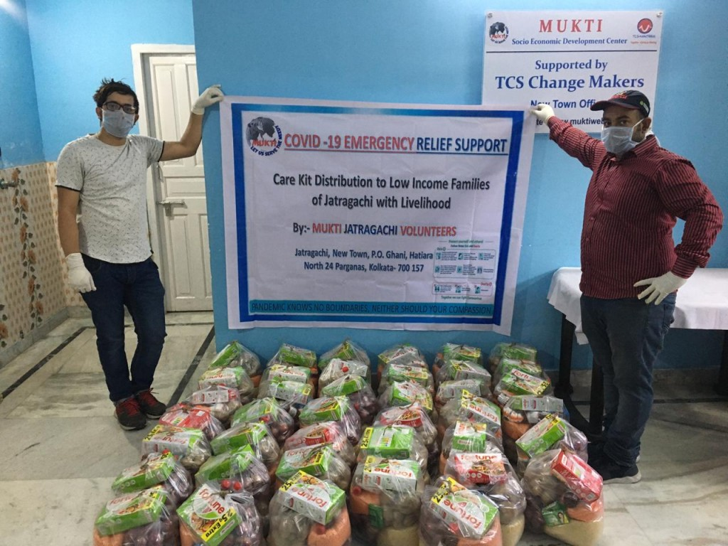 Supporting Covid19 Impacted In Jatragach, New Town