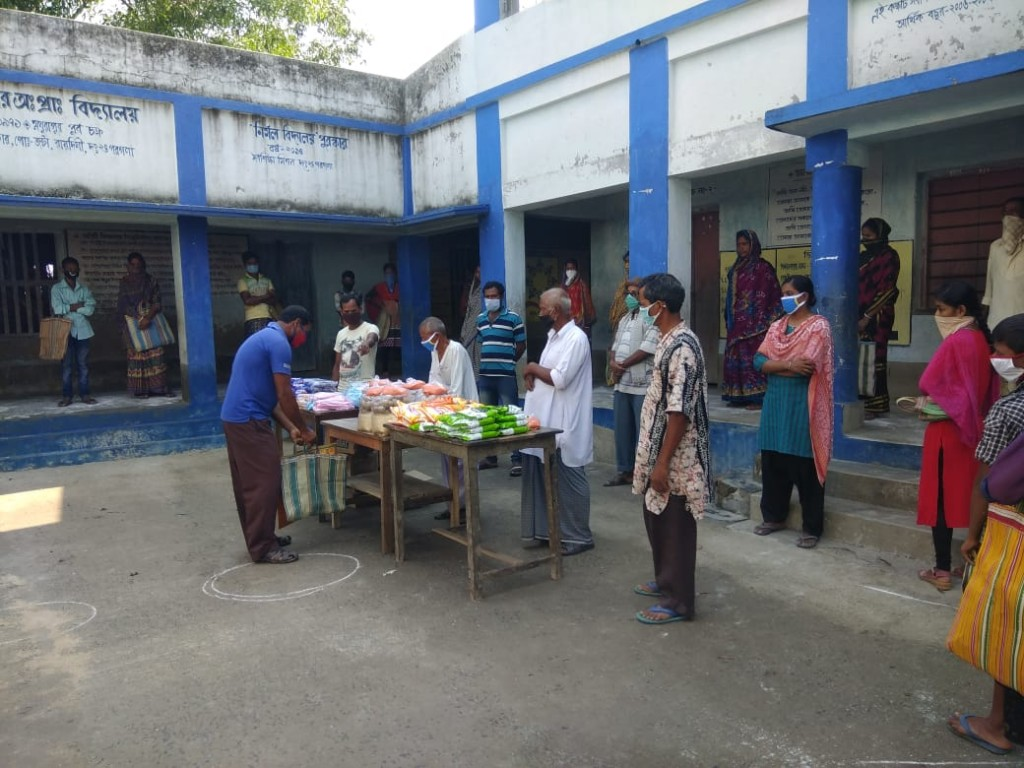 Relief For Support School Of Mukti During Covid-19 Pandemic