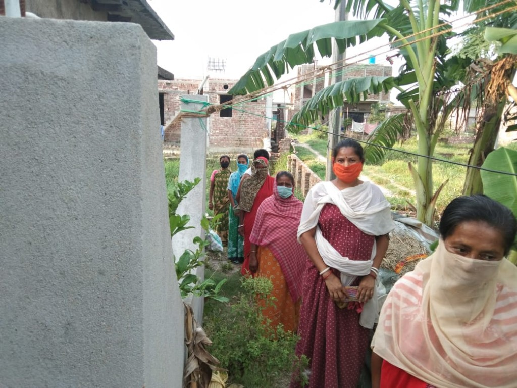 Reliefs Are Provided At Sonarpur By Mukti