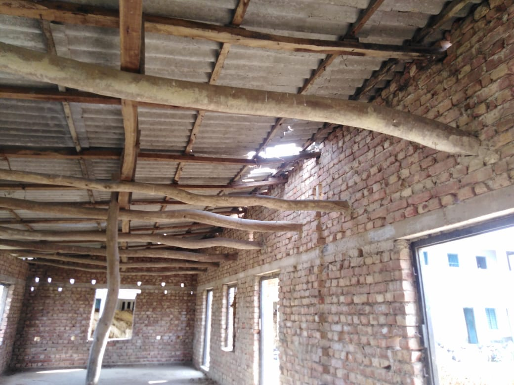 Destruction Done By Amphan At Jogendrapur Mukti Support School