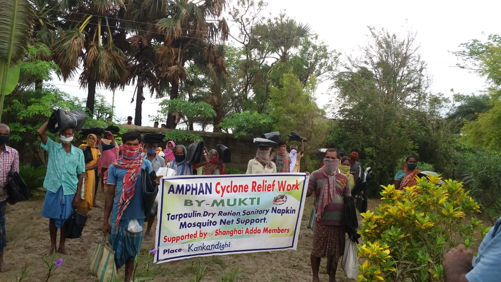 Mukti Distributed Relief To The Farmers Of Nagendrapur And K...