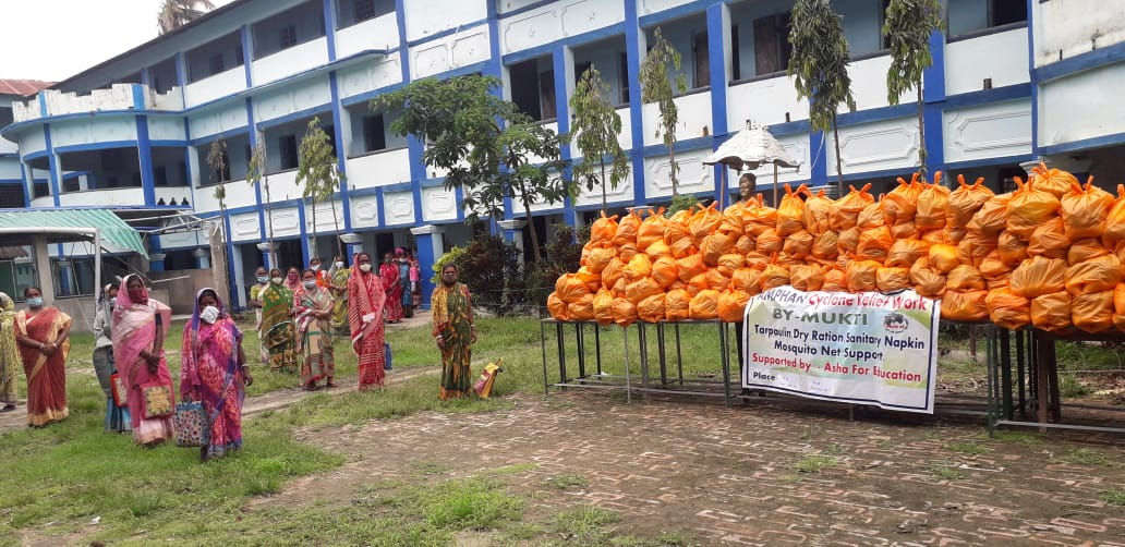 Relief Program Conducted By Mukti At G-plot