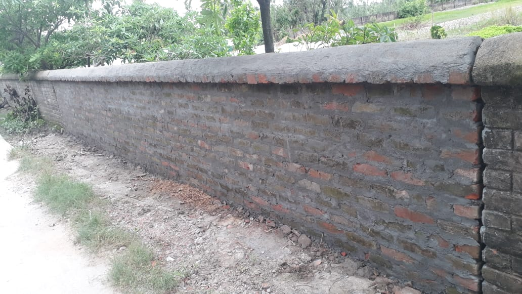 Mukti Construed The Boundary Wall Of Mukti Supporting School...