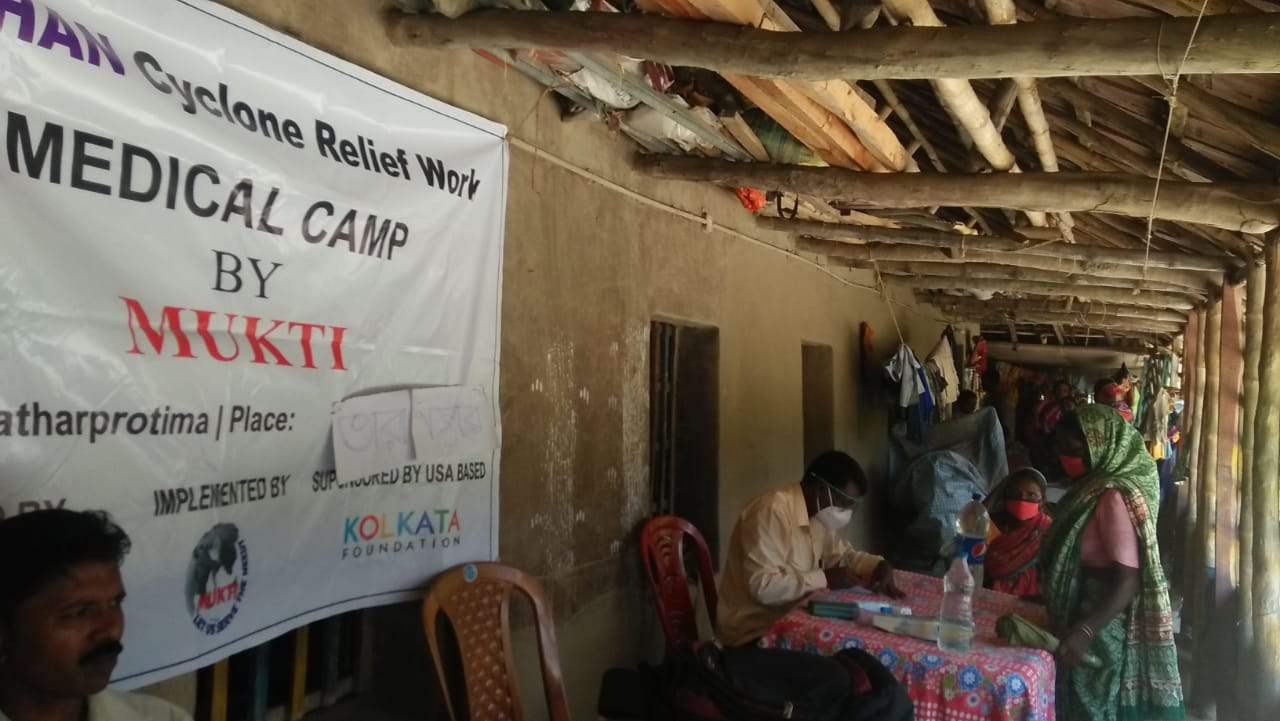 Medical Camp Conducted By Mukti At Taranagar Village