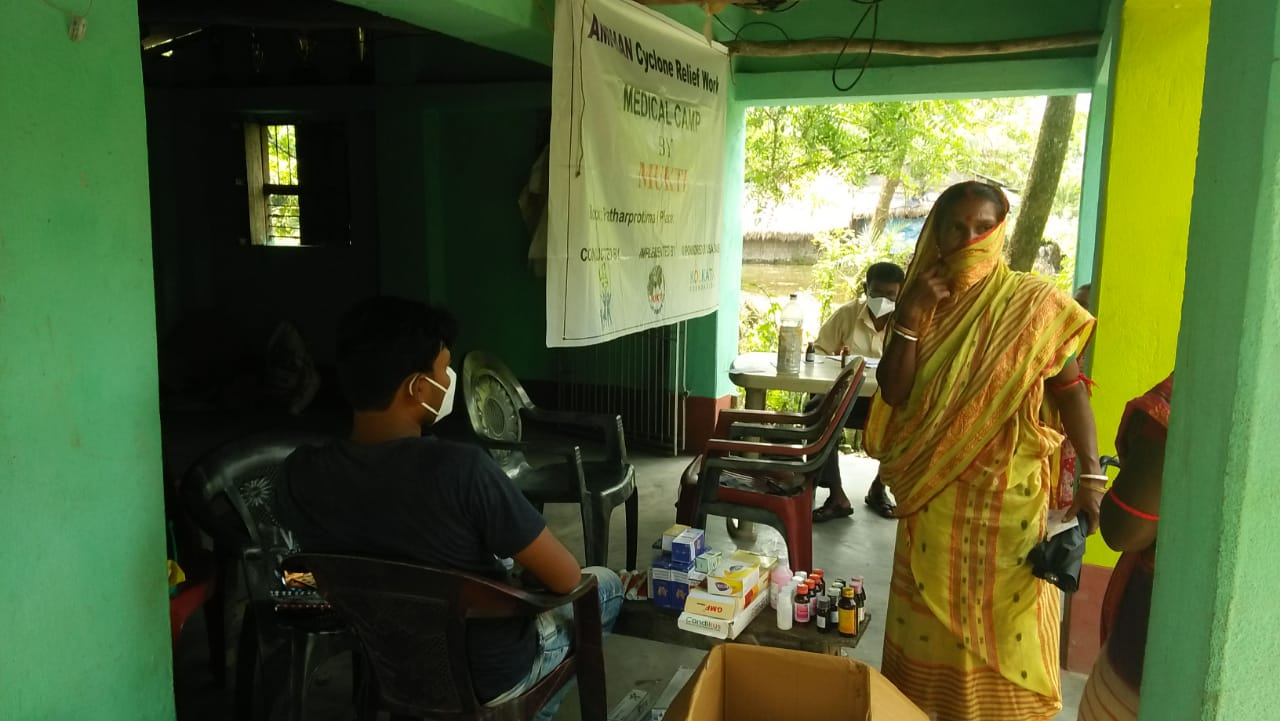Medical Camp Conducted By Mukti At Kuemuri Village