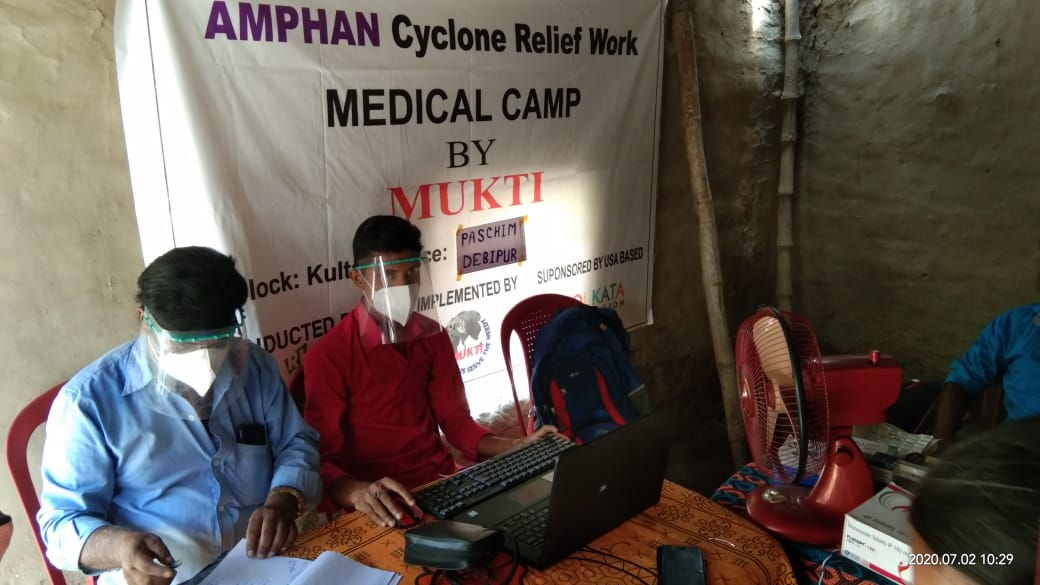 Medical Camp Conducted By Mukti At Paschim Debipur