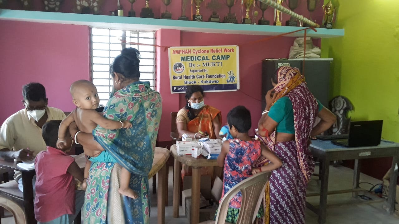 Medical Camp Conducted By Mukti At Budhapur 2nd Gheri