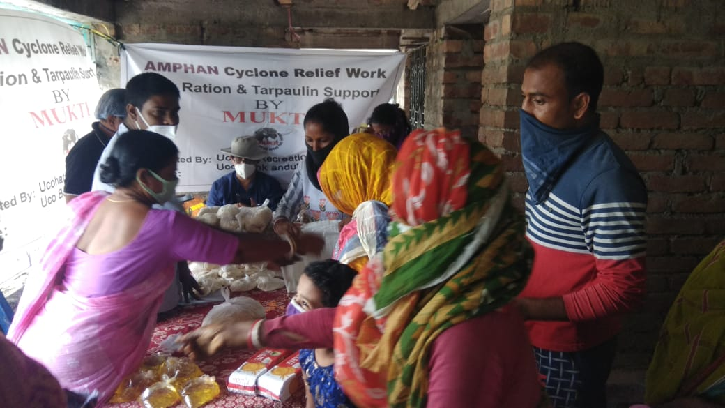 Medical Camp Conducted By Mukti At Sonatikari For The Women Shg Members