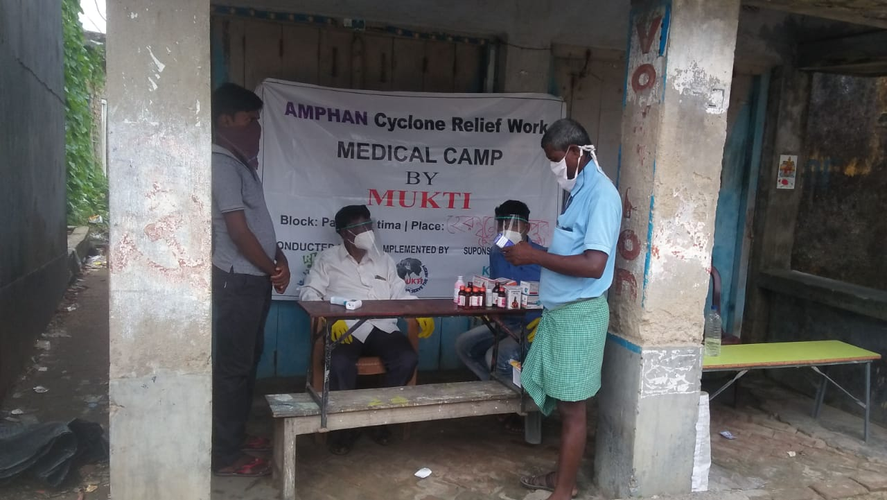 Medical Camp Conducted By Mukti At Herambagopalpur Shibalay ...
