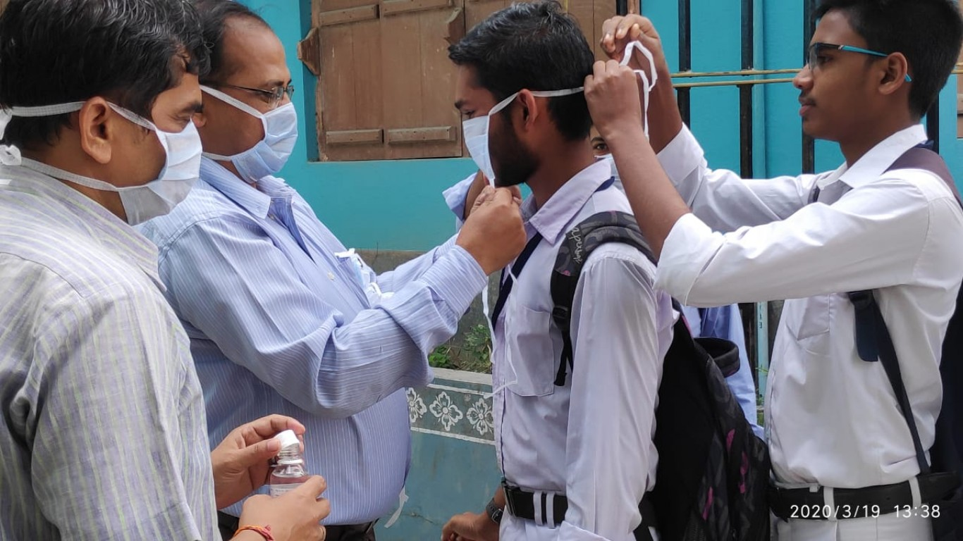 Consulate General Of The Federal Republic Of Germany Donates To Mukti For Mask Distribution At Sunderban