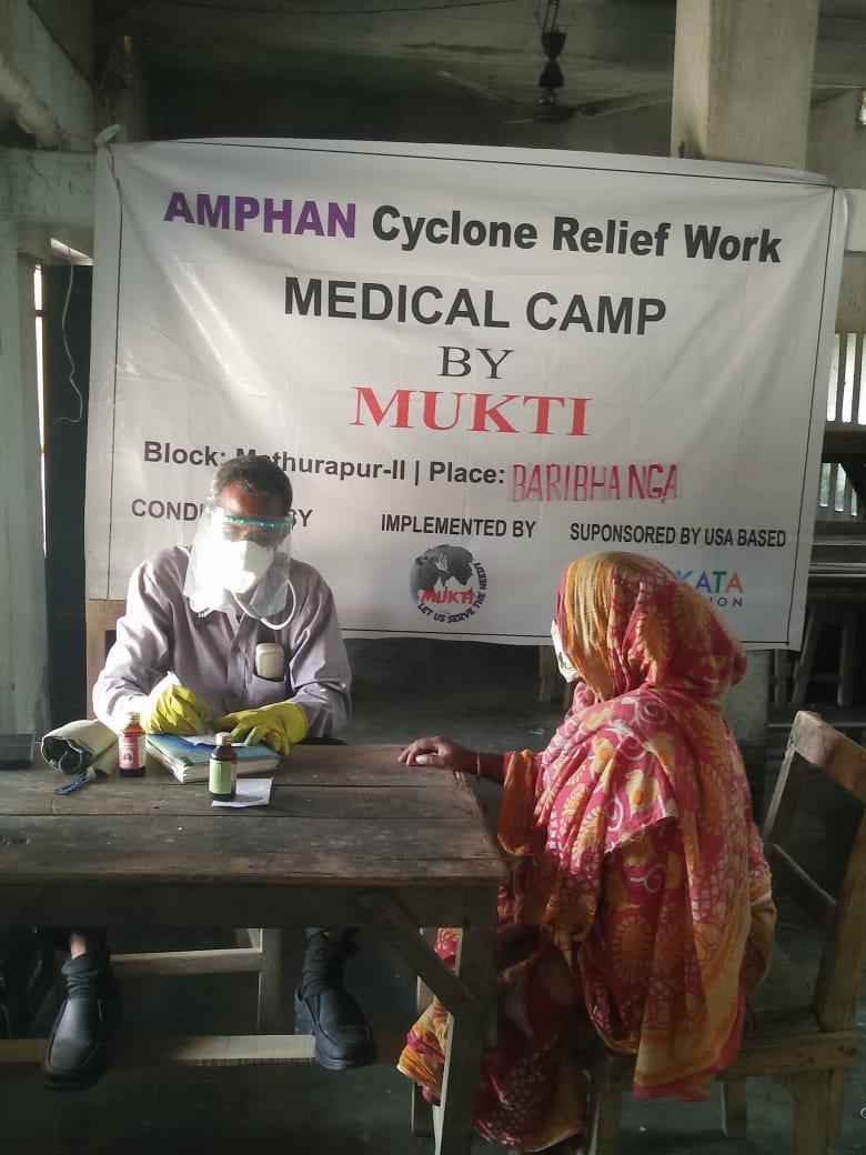 Medical Camp Conducted By Mukti At Baribhanga Village