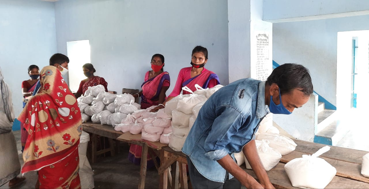Relief Distribution Program Conducted By Mukti At Sital Mait...