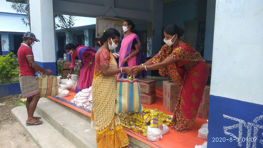 Mukti Distributed Relief Items To The Amphan Affected People...