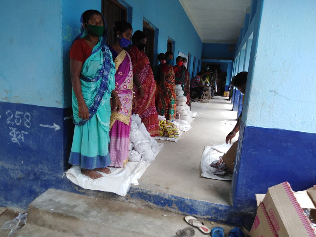 Mukti Conducted Relief Distribution Program At Madhya Pally ...