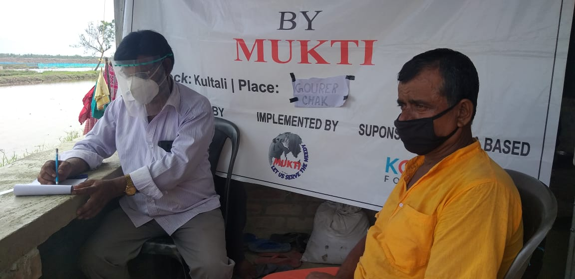 Medical Camp Conducted By Mukti At Gourer Chawk