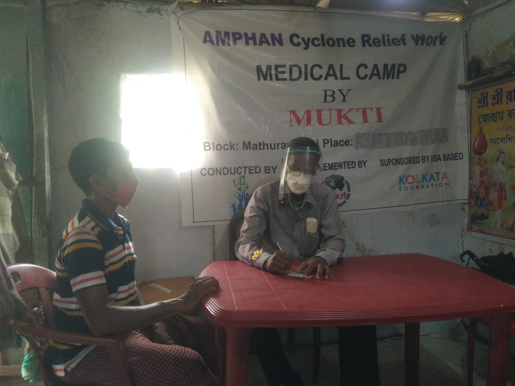 Medical Camp Conducted By Mukti At Khatuyapara Village