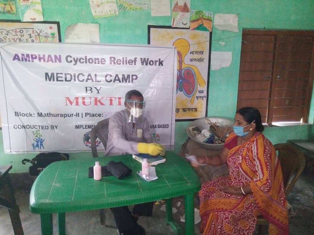 Medical Camp Conducted By Mukti At Kumrapara Village