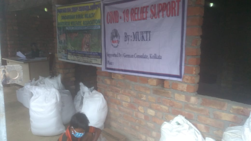Consulate General Of The Federal Republic Of Germany Donates To Mukti For Dry Ration Distribution At Basanti Block