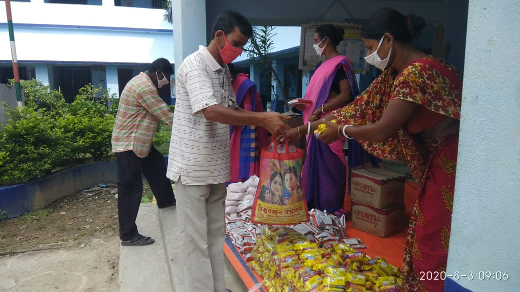 Consulate General Of The Federal Republic Of Germany Donates To Mukti For Dry Ration Distribution At Nagendrapur  Gram Panchayat