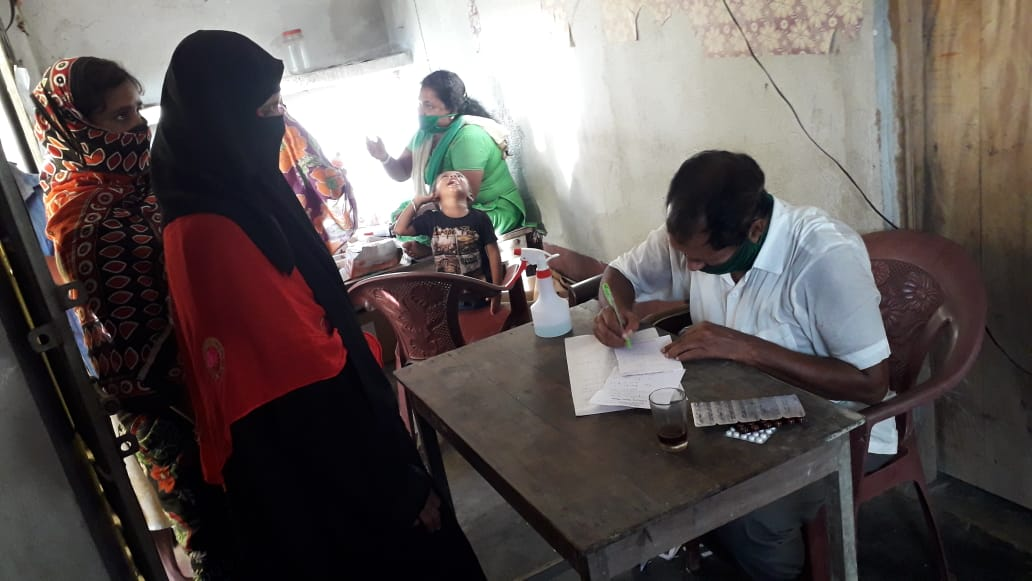 Medical Camp Conducted By Mukti At Bishalaxmipur Village