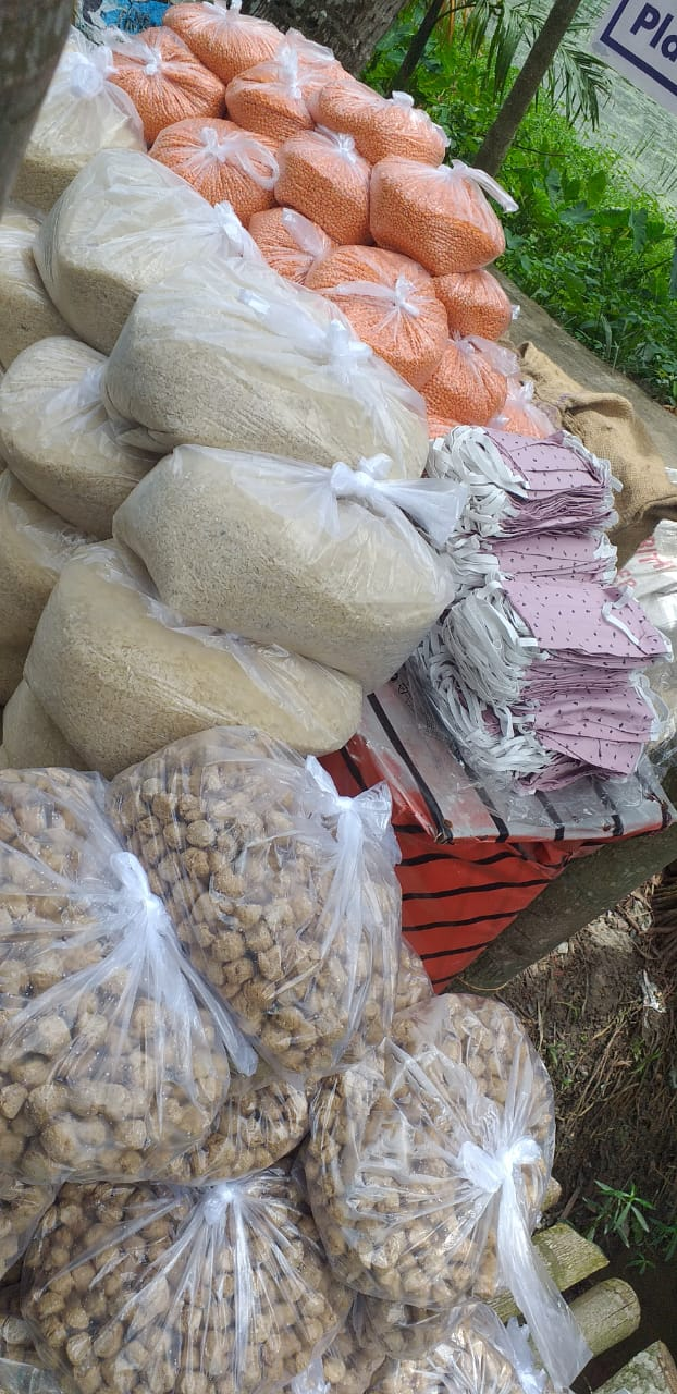 Mukti In Association With Consulate General Of The Federal Republic Of Germany Organised Dry Ration Distribution Program At Mathurapur Block I
