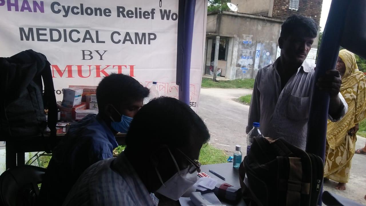 Medical Camp Conducted By Mukti At Gangapur Village