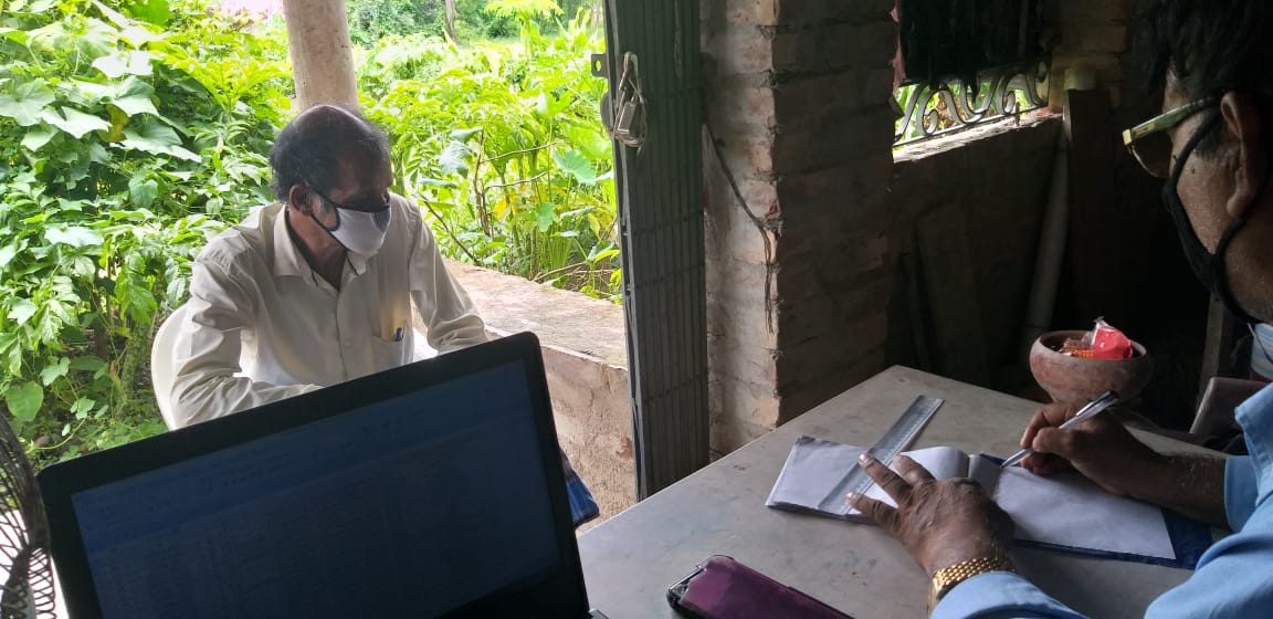 Medical Camp Conducted By Mukti At Paschim Debipur Village