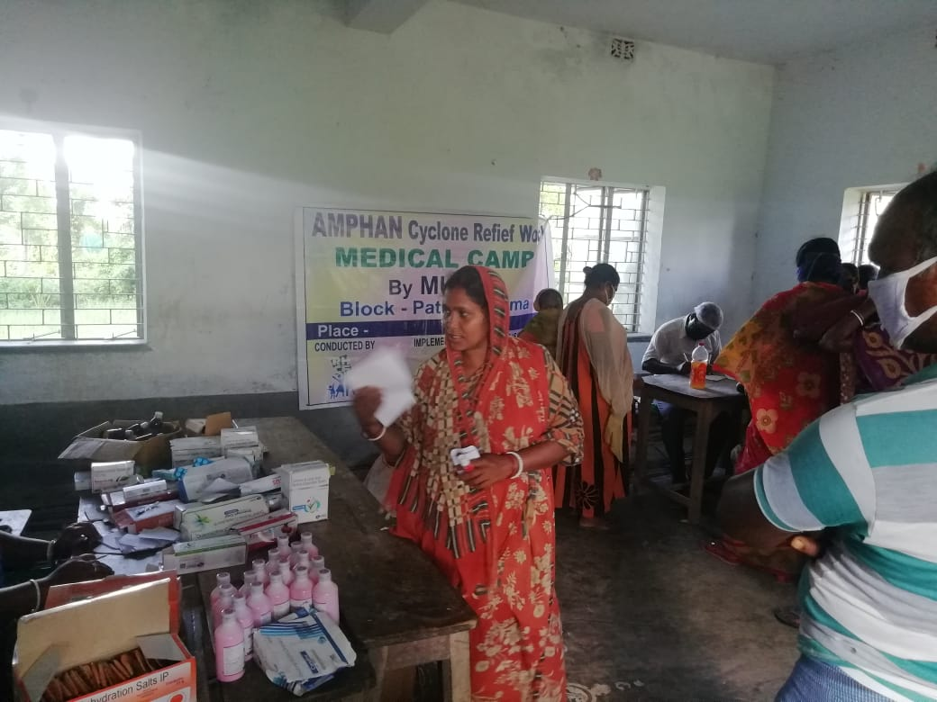 Medical Camp By Mukti At Bishalaxmipur, Purano Shibmandir Vi...
