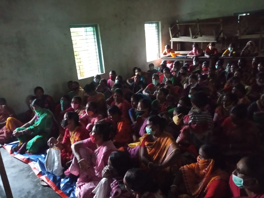 Mukti Conducted A Meeting For The New Shg Members Of Malekan Ghumti Village Under Hingaljung Block