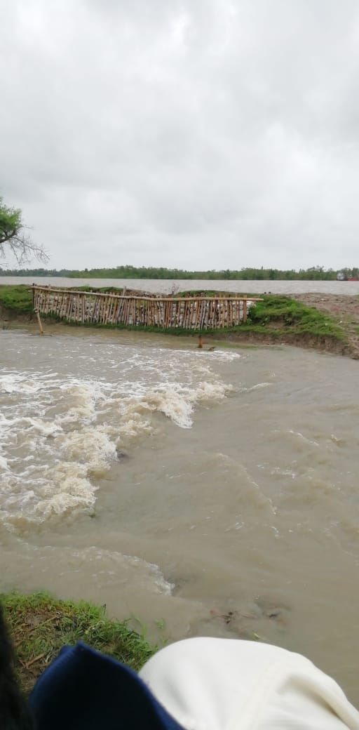 Villages Of Patharpratima And Namkhana Blocks Were Flooded By The Spring Tide