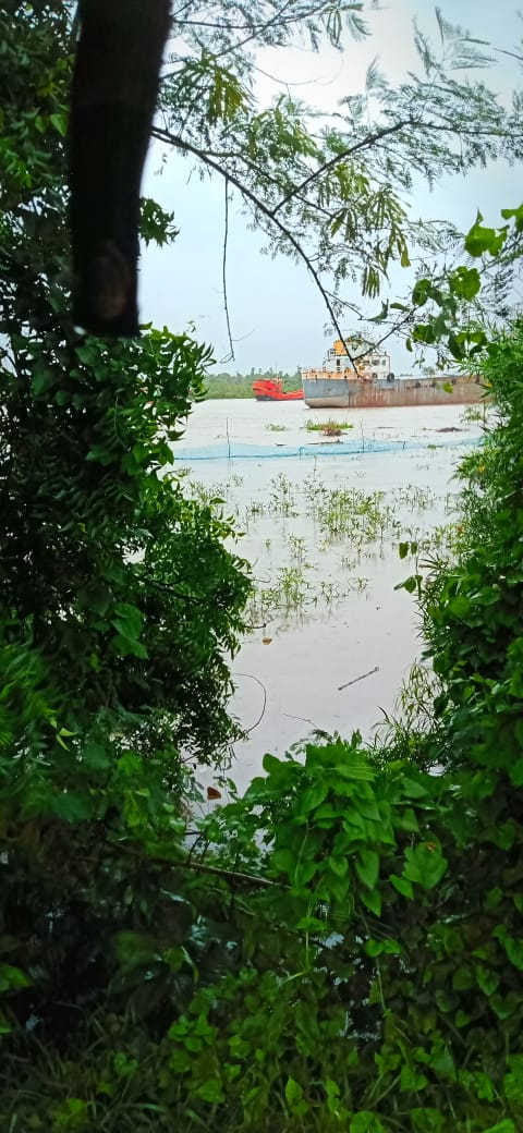 Spring Tide Flooded The Villages Of Nabadanga By Destructing The River Embankments