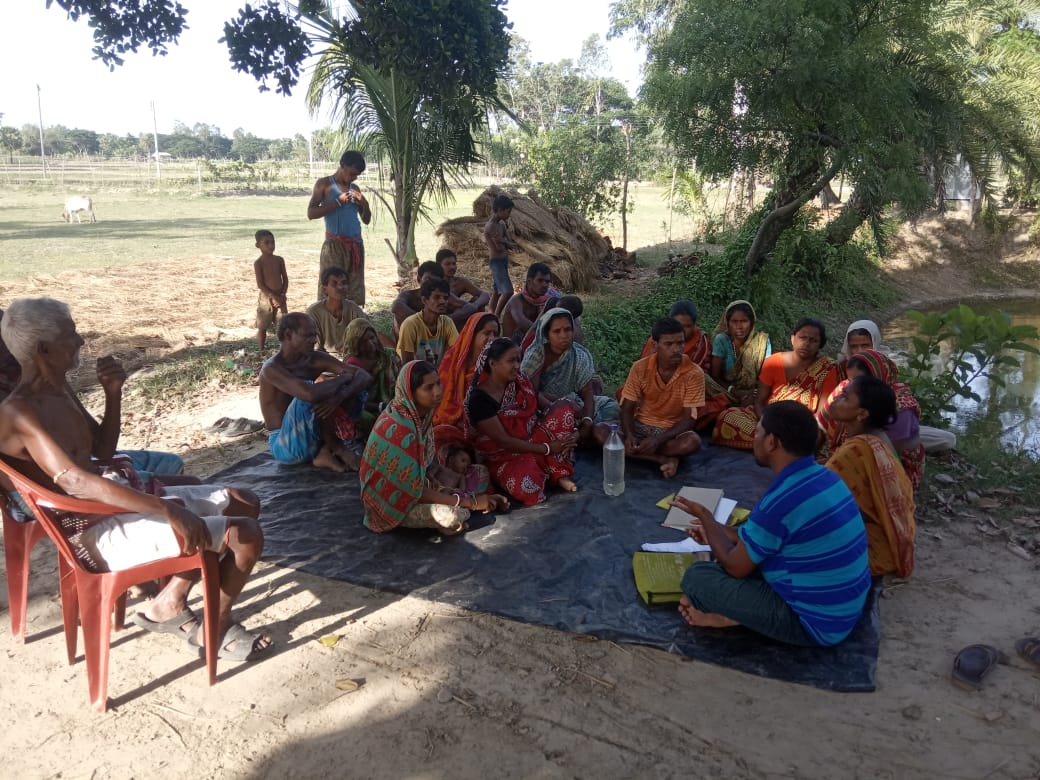 Dhanicha Training For The Farmers Of Mukti