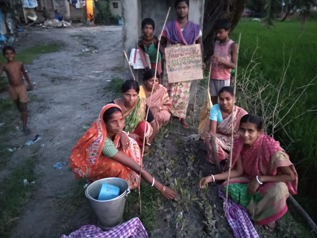 Mukti Conducted Tree Plantation Program 2020 At Kankandighi