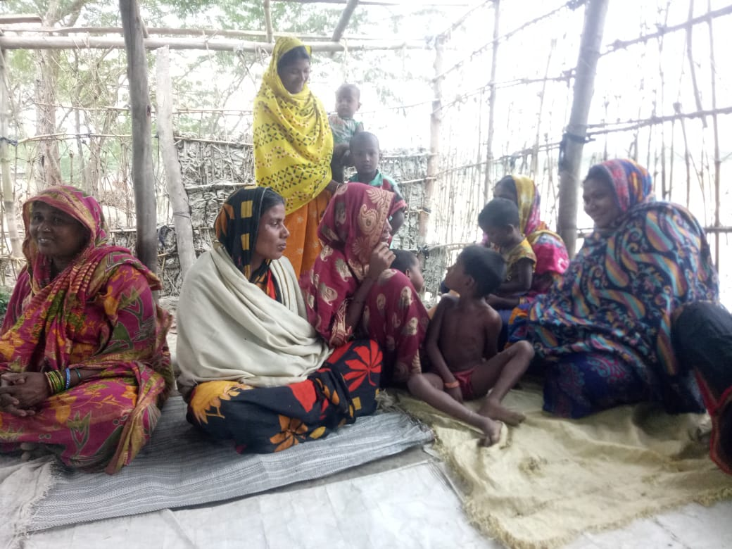 Mukti Created New Shg At Deulbari Under Kultali Block