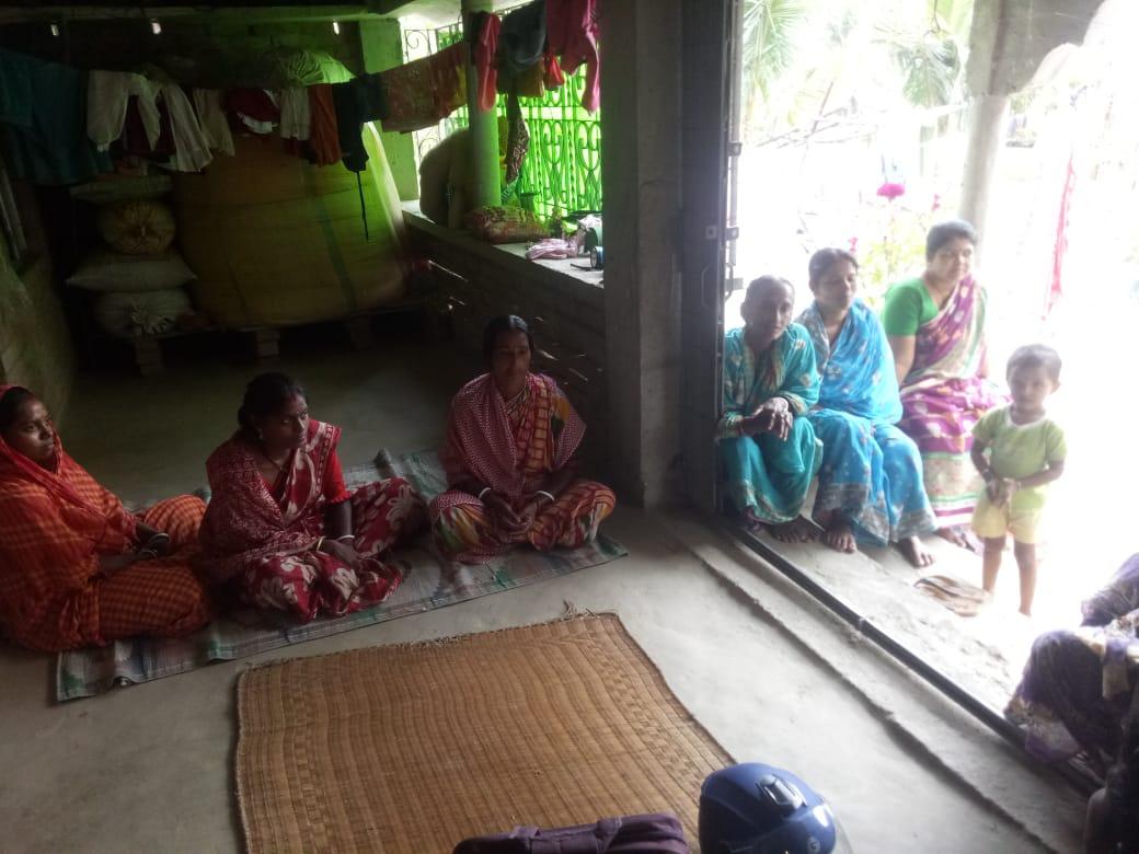 Mukti Created New Shg At Deulbari Under Kultali Block