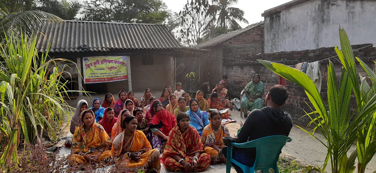 Mukti Conducted Organic Training At Mayrar Mahal