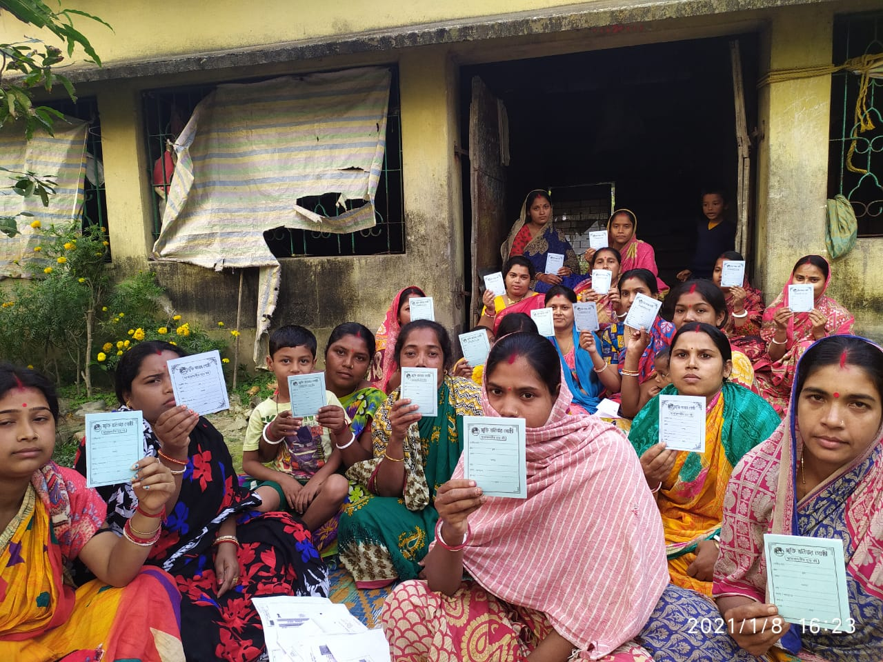 Mukti Created New Shg Groups At Kakdwip