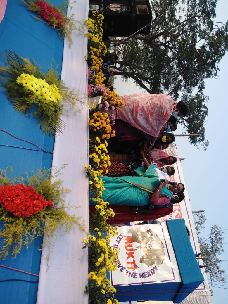 Group Pledge Taking Ceremony On The Occasion Of Sankalpa Diwas