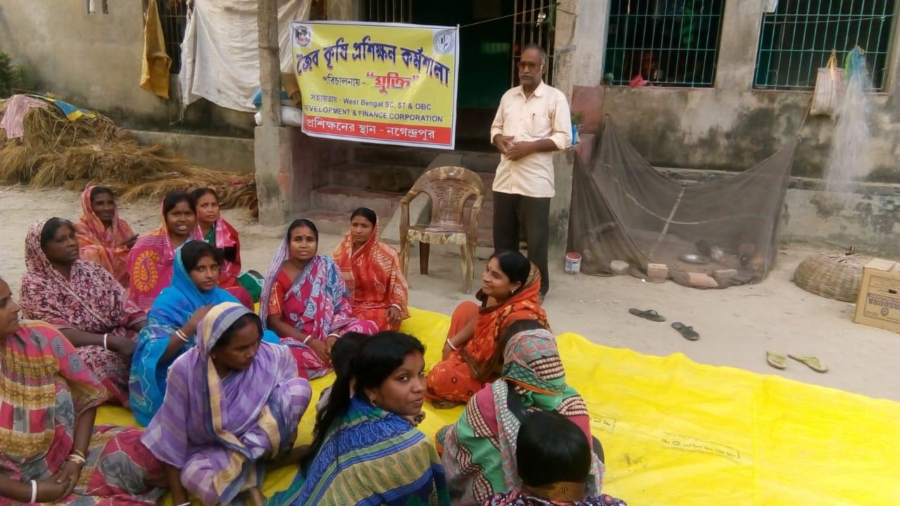 Mukti Organized Organic Agriculture Training Program For The Mcdf Members Of Radhakantapur Bhadrapara