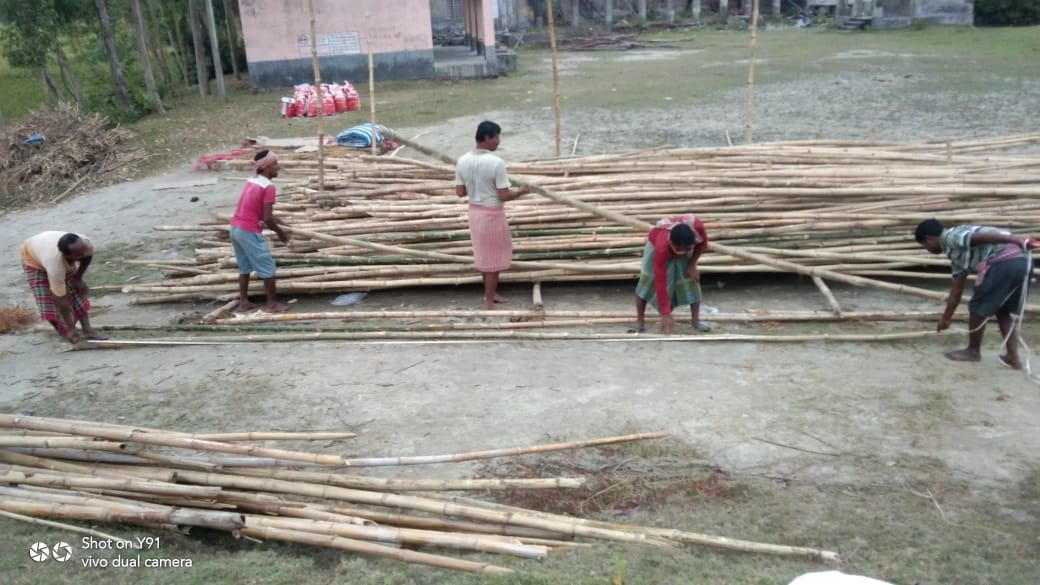 Mukti Is Building Model House At Model Village