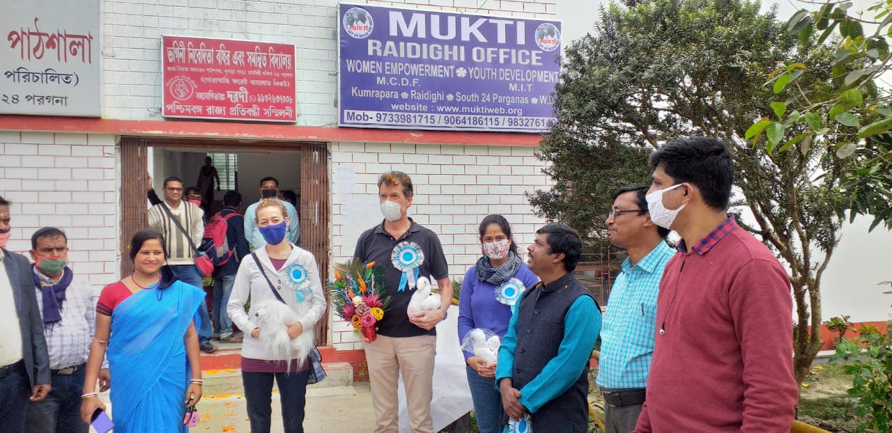 Representatives Of German Consulate Visited Mcdf Raidighi Office