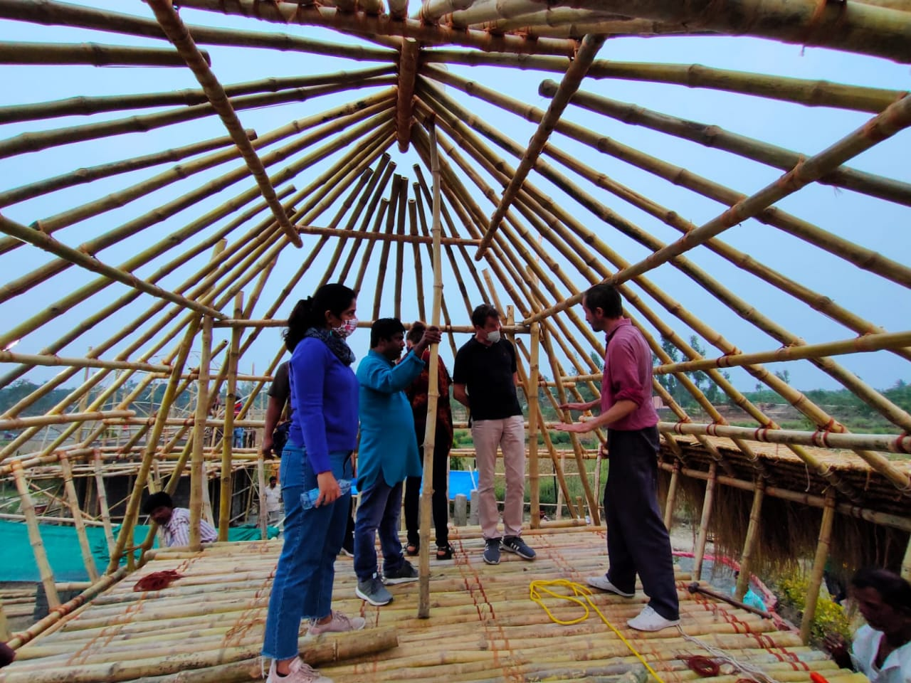 Representatives Of German Consulate Visited The Construction Site Of Model House
