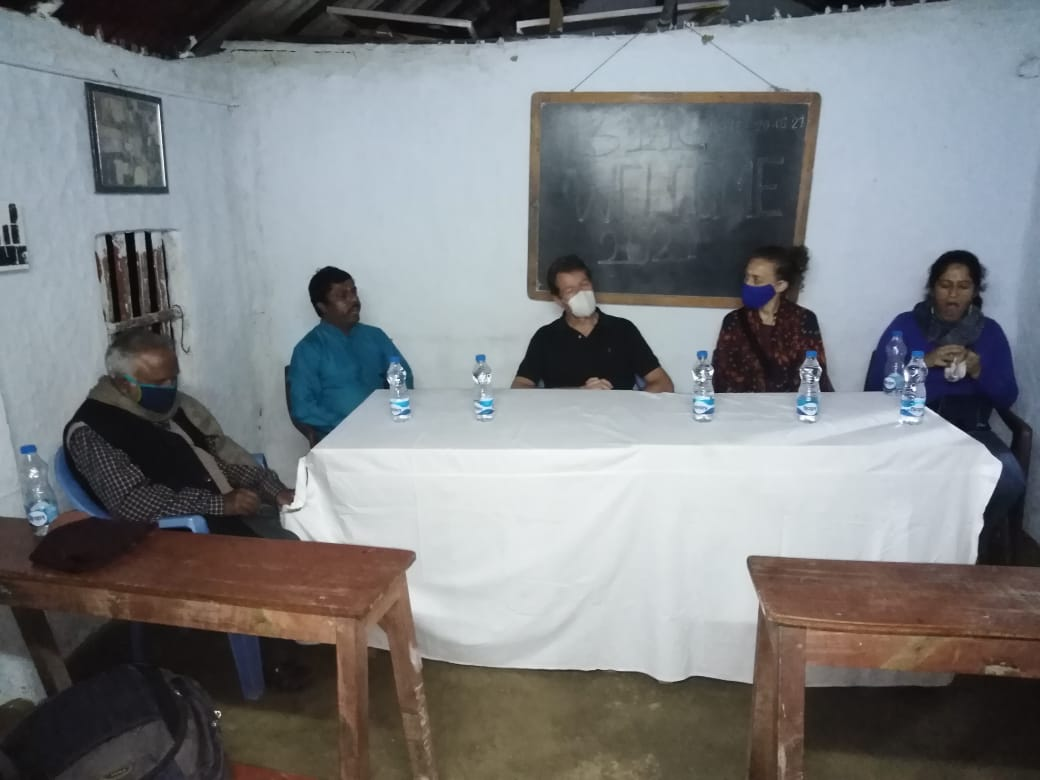 Representatives Of German Consulate Visited Mukti Support Sc...