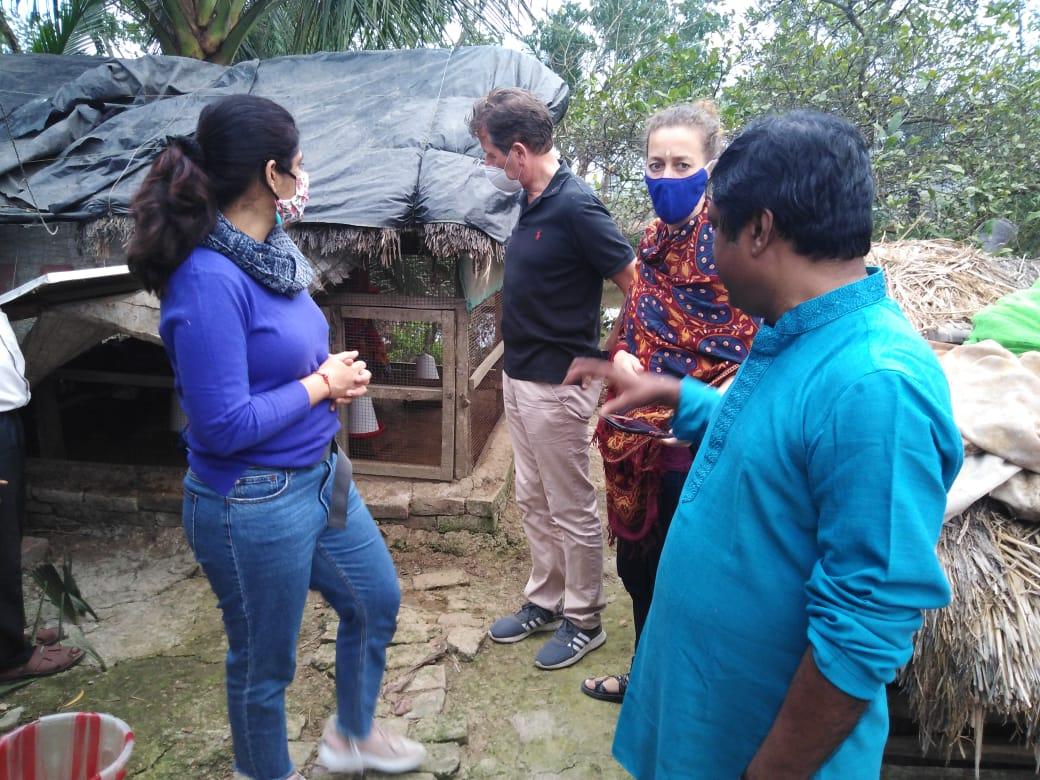 Representatives Of German Consulate Visit The Mukti Communit...