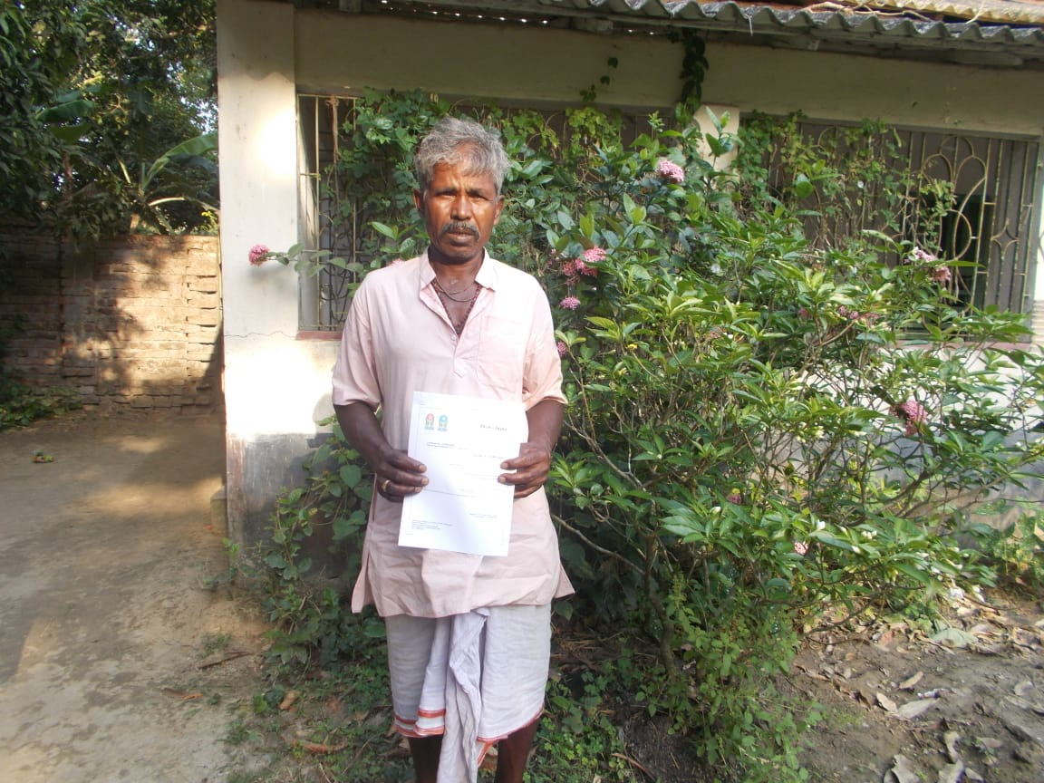 Mukti Organic Farmers Received Pgs Certificate For The Year ...