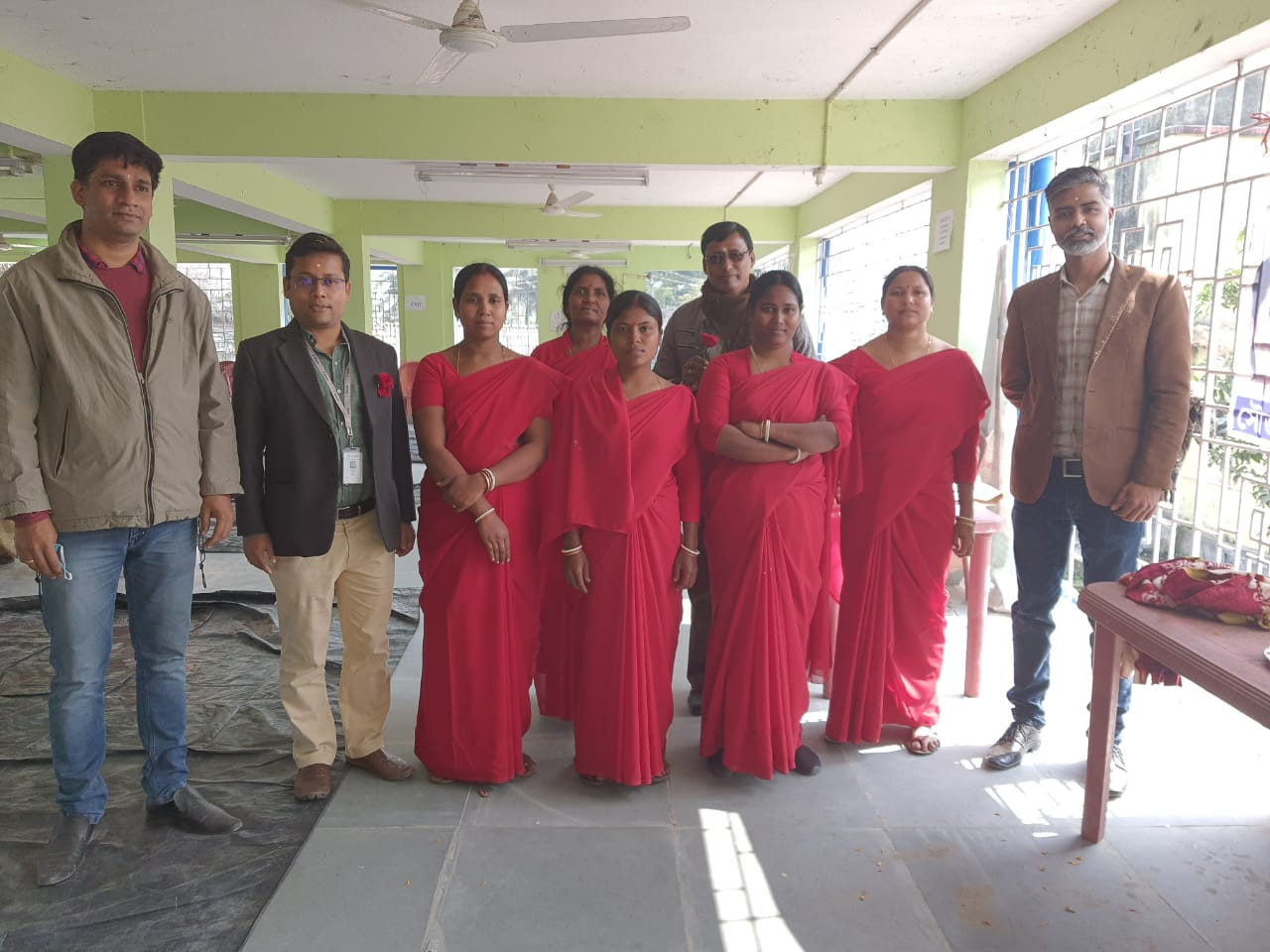 Sidbi Officials Meet With The Mcdf Members Of Kankandighi And Visited Raidighi Office