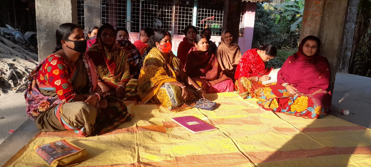Organic Agriculture Training Program By Mukti For The Mcdf Members Of Kashinagar